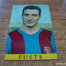 Coleccionismo deportivo: POSTAL F C BARCELONA FUSTE. Lote 277684788