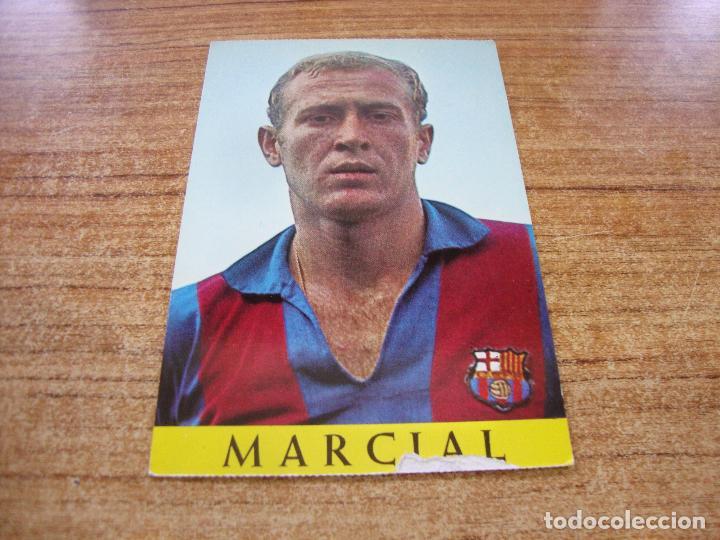 POSTAL F C BARCELONA MARCIAL (Coleccionismo Deportivo - Postales de Deportes - Fútbol)