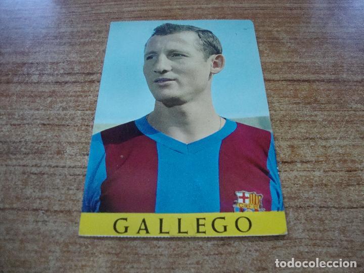 POSTAL F C BARCELONA GALLEGO (Coleccionismo Deportivo - Postales de Deportes - Fútbol)