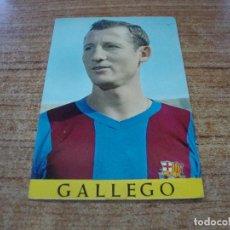 Coleccionismo deportivo: POSTAL F C BARCELONA GALLEGO. Lote 277684848