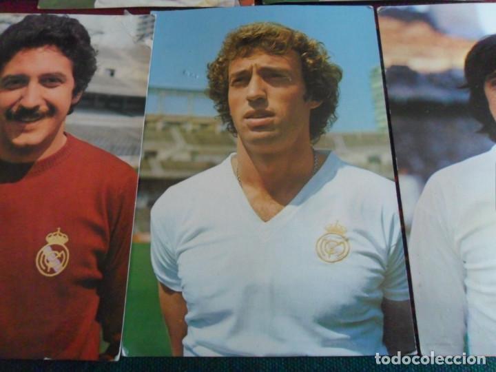Coleccionismo deportivo: REAL MADRID AÑOS 70 POSTAL SIN CIRCULAR WOLFF, POLI RINCÓN, CUNNINGHAM, GUERINI, GARCÍA REMÓN. RARAS - Foto 3 - 278227253
