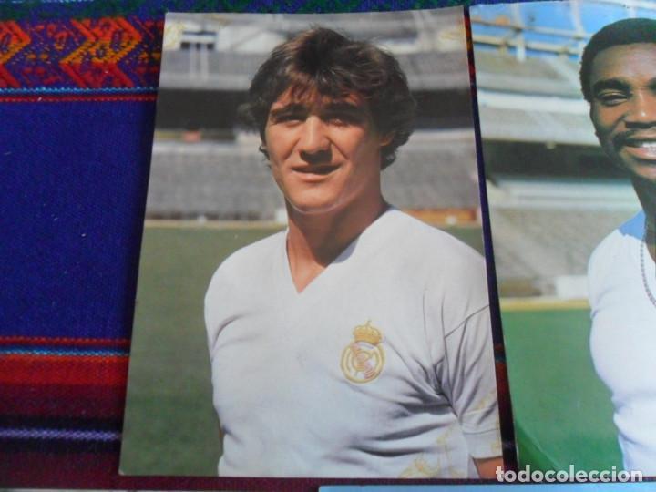 Coleccionismo deportivo: REAL MADRID AÑOS 70 POSTAL SIN CIRCULAR WOLFF, POLI RINCÓN, CUNNINGHAM, GUERINI, GARCÍA REMÓN. RARAS - Foto 6 - 278227253