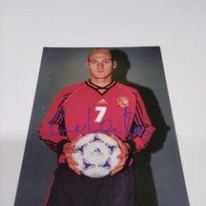 Coleccionismo deportivo: POSTAL ROBERTO RÍOS - SELECCIÓN ESPAÑOLA.. Lote 278353163