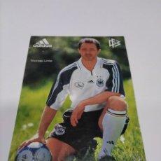 Coleccionismo deportivo: POSTAL THOMAS LINKE - SELECCIÓN ALEMANA.. Lote 278353513