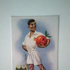 Coleccionismo deportivo: ANTIGUA TARJETA POSTAL VALENCIA C. F.. Lote 278395713