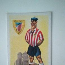 Coleccionismo deportivo: ANTIGUA TARJETA POSTAL ATHLÉTIC DE BILBAO. Lote 278395828