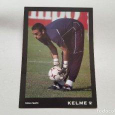 Coleccionismo deportivo: POSTAL KELME DE TONI PRATS (REAL BETIS) 15X21. Lote 279418118