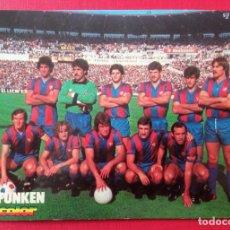 Coleccionismo deportivo: BARÇA FÚTBOL POSTAL EQUIPO F.C. BARCELONA TEMP. 1979 - 1980 ESTADIO LA ROMAREDA. Lote 280284813