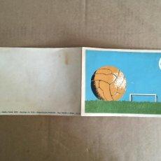 Coleccionismo deportivo: MUNDIAL FUTBOL CHILE 1962 COPA JULES RIMET POSTAL FELICITACION ORIGINAL ANTIGUA MUY RARA. Lote 284745218