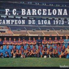 Coleccionismo deportivo: F.C. BARCELONA CAMPEÓN DE LIGA 1973 - 1974. VER FOTOS Y COMENTARIOS. Lote 285078453