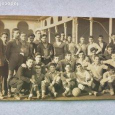Coleccionismo deportivo: FOTO POSTAL ANTIGUA EQUIPO FUTBOL SIN IDENTIFICAR. Lote 285128468