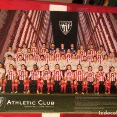 Coleccionismo deportivo: TARJETON, POSTAL, TAMAÑO A4, AÑO 17-18 ATHLETIC CLUB DE BILBAO. Lote 286311003