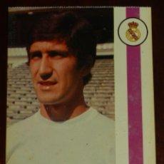 Collezionismo sportivo: POSTAL REAL MADRID, JUGADOR MARAÑON, RAFAEL CARLOS PEREZ GONZALEZ, 1971, FOTOCOLOR LARA, ED. IBERGAS. Lote 286358148
