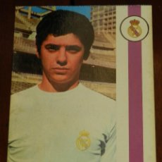 Collezionismo sportivo: POSTAL REAL MADRID, JUGADOR JUAN CARLOS TOURIÑO CANCELA, 1971, FOTOCOLOR LARA, ED. IBERGAS, SIN CIRC. Lote 286402278