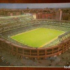 Coleccionismo deportivo: ESTADIO SANTIAGO BERNABEU, REAL MADRID, 1971, FOTOCOLOR LARA, ED. IBERGAS, SIN CIRCULAR. Lote 286404068