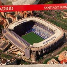 Coleccionismo deportivo: MAGNIFICA POSTAL ANTIGUA DEL SANTIAGO BERNABÉU. Lote 286551378