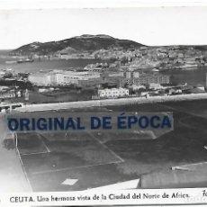 Collezionismo sportivo: (PS-66294)POSTAL DE CEUTA-UNA HERMOSA VISTA DE LA CIUDAD DEL NORTE DE AFRICA.CAMPO DE FUTBOL. Lote 287538453