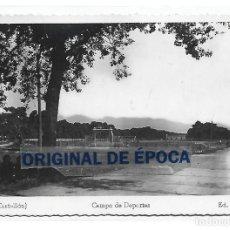 Coleccionismo deportivo: (PS-66298)POSTAL DE GRAO(CASTELLON)-CAMPO DE DEPORTES.CAMPO DE FUTBOL.ED.F.FOLCH. Lote 287740523