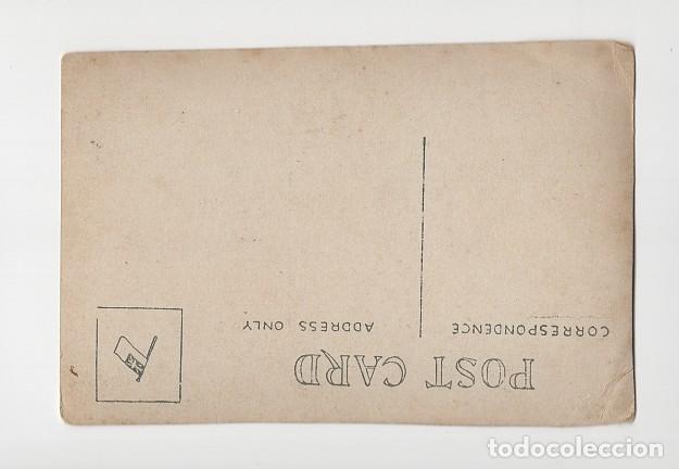Coleccionismo deportivo: Jugadores de fútbol muy antiguos, posiblemente de Cataluña - Foto 2 - 288094283