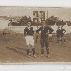 Coleccionismo deportivo: JUGADORES DE FÚTBOL MUY ANTIGUOS, POSIBLEMENTE DE CATALUÑA. Lote 288094283