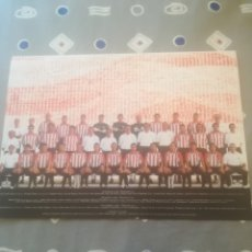 Coleccionismo deportivo: ATHLETIC CLUB BILBAO TARJETÓN / FELICITACIÓN NAVIDAD AÑO 2001 / 2002. HEYNCKES, GUERRERO, URZAIZ.... Lote 288103078