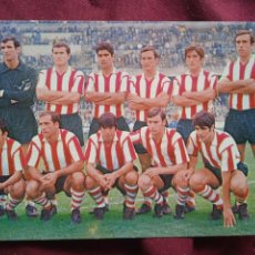 Collezionismo sportivo: POSTAL DEL ATLETICO DE BILBAO. ATHLÉTIC DE BILBAO 1969. Lote 288647573