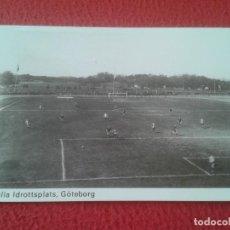 Coleccionismo deportivo: POST CARD POSTAL CAMPO STADIO ESTADIO STADIUM STADE FÚTBOL FOOTBALL WALHALLA GÖTEBORG 1908 SUECIA.... Lote 289216428