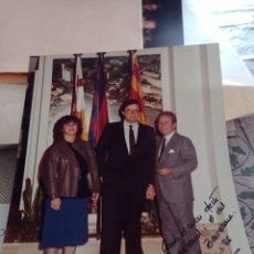 Coleccionismo deportivo: FOTOGRAFÍA DEDICADA JOSEP LLUÍS NÚÑEZ. 1986. 25 ANIVERSARIO SOCIO.. Lote 289703218