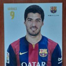 Coleccionismo deportivo: FOTOGRAFÍA LUIS SUAREZ F.C. BARCELONA. VER FOTOS Y DESCRIPCIÓN.. Lote 289890723