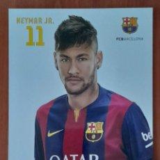 Coleccionismo deportivo: FOTOGRAFÍA DE NEYMAR . F. C BARCELONA. VER FOTOS Y DESCRIPCIÓN.. Lote 289891538