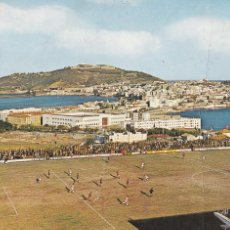 Coleccionismo deportivo: CEUTA, CAMPO DE FUTBOL ALFONSO MORUBE. ED. GARRABELLA Nº 31. AÑO 1967. ESCRITA. Lote 291488743