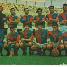 Colecionismo desportivo: POSTAL C.D. CONDAL (BARCELONA) - PLANTILLA JUGADORES - ED. BERGAS 1966. Lote 292395553