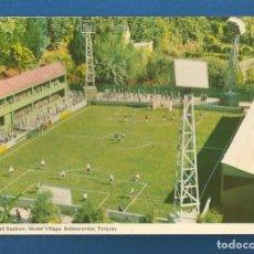 Colecionismo desportivo: POSTAL SIN CIRCULAR ESTADIO CAMPO DE FUTBOL MODEL VILLAGE BABBACOMBRE TORQUAY EDITA DENNIS. Lote 293255198