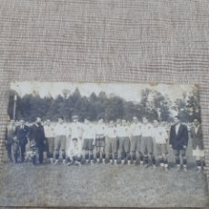 Coleccionismo deportivo: POSTAL ORIGINAL DE LA SELECCIÓN ESPAÑOLA AÑO1924. Lote 294132403