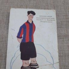 Coleccionismo deportivo: POSTAL ORIGINAL DE VICENTE PIERA MAL ESTADO. Lote 294132933