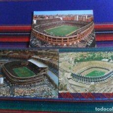 Coleccionismo deportivo: POSTAL ESTADIO AZTECA FOTO MEXICANA, VICENTE CALDERÓN 298 JL GALLEGOS, SANTIAGO BERNABEU 299.. Lote 294151263