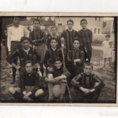 Coleccionismo deportivo: TARJETA POSTAL FOTOGRAFICA CLUB ELCANO DE FUTBOL. BILBAO, BIZKAIA. C. 1920. Lote 294166248