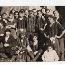Coleccionismo deportivo: TARJETA POSTAL FOTOGRAFICA CLUB ELCANO FUTBOL. BILBAO, BIZKAIA. C. 1925. Lote 294167238