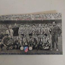 Coleccionismo deportivo: POSTAL DEL ATLÉTICO DE MADRID.TEMPORADA 64-65. Lote 294461598