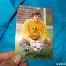 Coleccionismo deportivo: LUIS M . ARKONADA POSTAL ADIDAS AÑOS 80 UNICA EN TC ¡¡¡. Lote 294973128