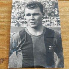Coleccionismo deportivo: POSTAL ANTIGUA LADISLAO KUBALA C.F. BARCELONA AÑOS 50. Lote 295644723