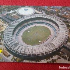 Coleccionismo deportivo: POSTAL CAMPO ESTADIO STADIUM FOOTBALL DE FÚTBOL FUTEBOL BRASIL MARACANÁ MARIO FILHO STADE STADION.... Lote 296859758