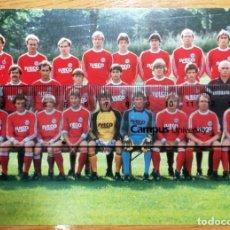 Coleccionismo deportivo: POSTAL FUTBOL POST CARD FOOTBALL BAYER MUNICH KARL-HEINZ RUMMENIGGE UDO LATTEK MÜLLER. Lote 297382243
