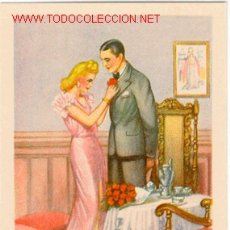 Postales: POSTAL DE ENAMORADOS. Lote 27520867
