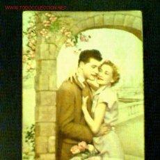 Postales: TARJETA ROMÁNTICA ANTIGUA. PABLO DÜMMATSEN Nº 1822. Lote 22469678