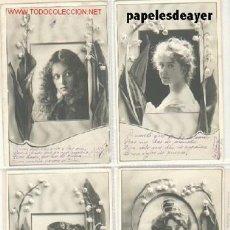 Postales: SERIE DE 8 POSTALES ANTIGUAS. (1902). Lote 21964105