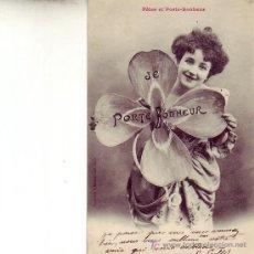Postales: POSTAL ANTIGUA CIRCULADA-FETES ET PORTE-BONHEUR. Lote 4243264