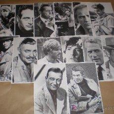 Postales: LOTE DE 14 POSTALES SERIE ARTISTAS 1982 (MIDEN 18,50 X 11,50 CTM) . Lote 21671914
