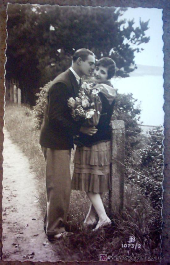 POSTAL PAREJA ROMANTICA (Postales - Postales Temáticas - Galantes y Mujeres)