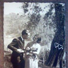 Postales: POSTAL PAREJA ROMANTICA,CIRCULADA 14-08-1933. Lote 26620192